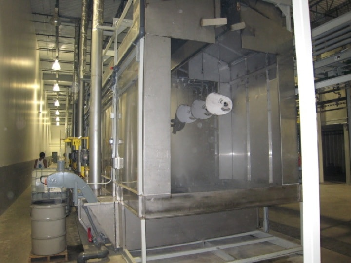 Pre-Treatment Parts Cleaning System