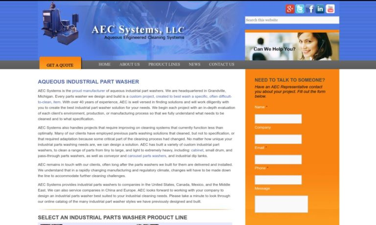AEC Systems USA, Inc.