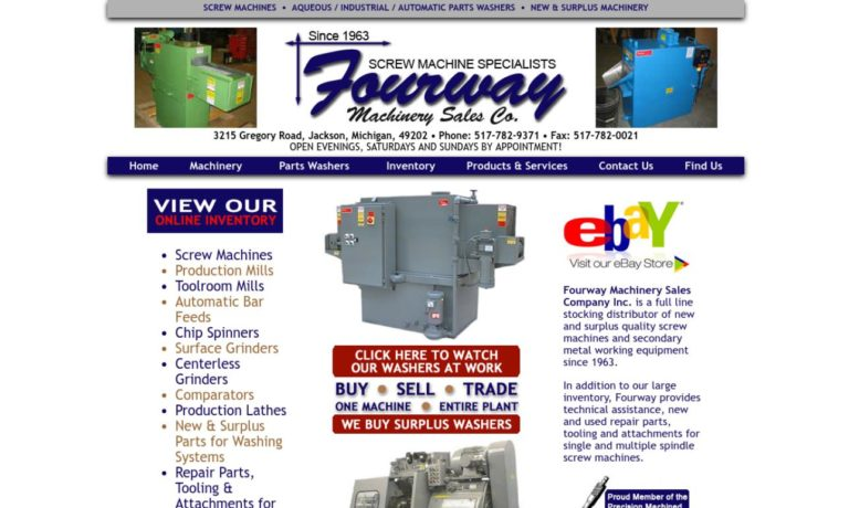 Fourway Machinery Sales Company