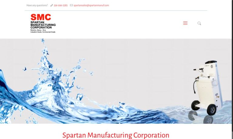 Spartan Manufacturing Corp.