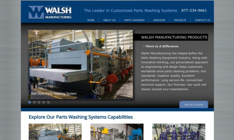 Walsh Manufacturing Corporation