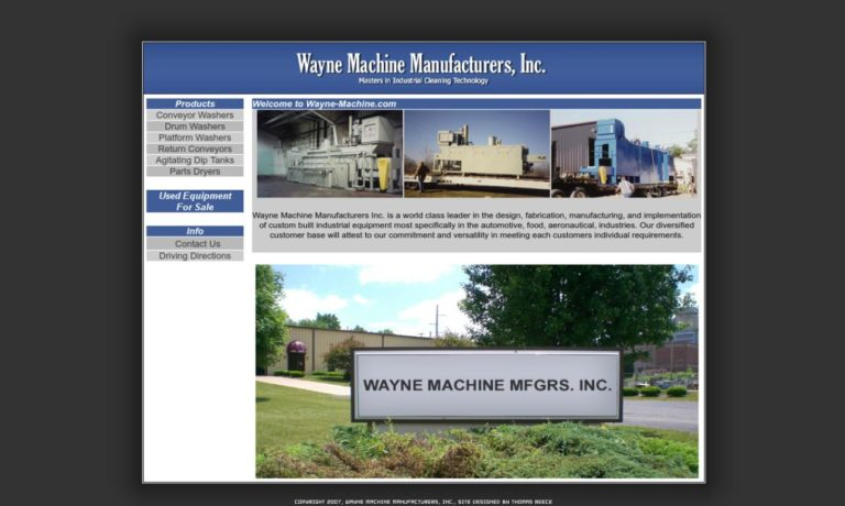 Wayne Machine Manufacturers, Inc.