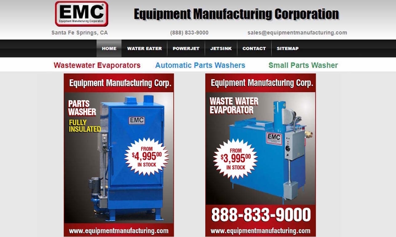 EMC/Equipment Manufacturing Corporation