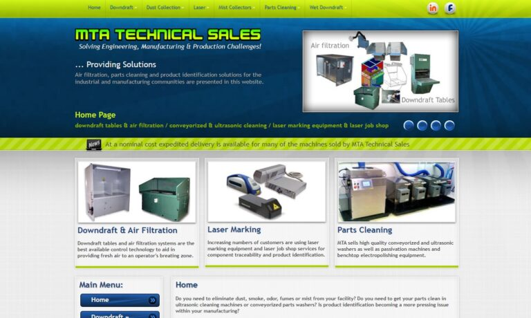 MTA Technical Sales